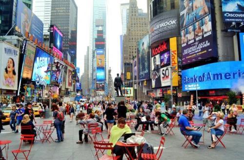 纽约时代广场广告费用多少?这样花钱装腔作势值吗?