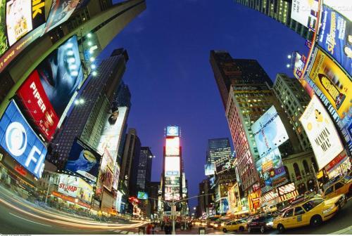 想在纽约时代广场上的广告费大概需要花多少钱?