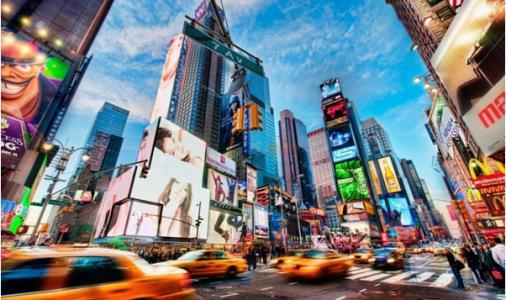 谷歌拿下纽约时代广场上最贵的广告牌需要多少钱?