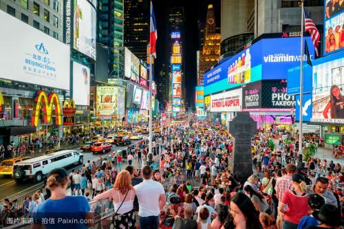 纽约时代广场广告价格大概标准