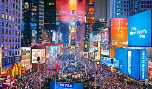 中国企业在美国纽约时代广场上打广告有什么意义?