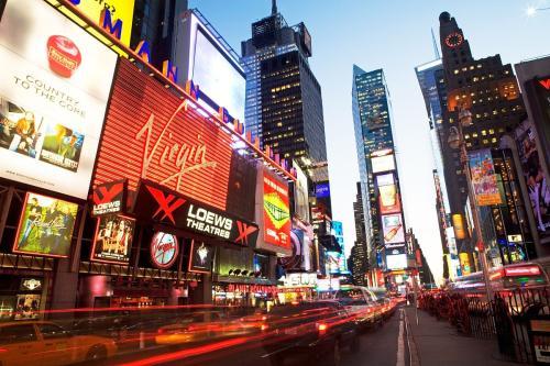 好莱客衣柜走进美国纽约时代广场