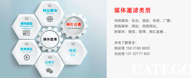 深圳媒体邀约必须具备以下这些条件,缺一不可